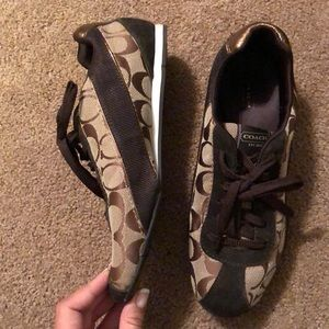Brown Coach Sneakers